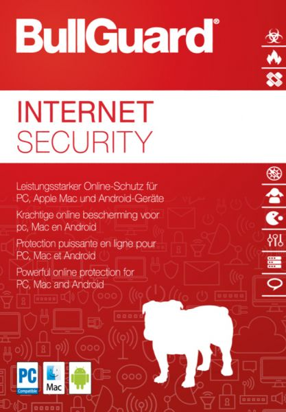 BullGuard Internet Security 2020 - 3 User / 1 Jahr - ESD
